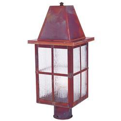 Arroyo Craftsman Hartford 20 Inch Tall 1 Light Outdoor Post Lamp - HP-8-RM-RC