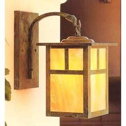 Arroyo Craftsman Mission 16 Inch Tall 1 Light Outdoor Wall Light - MB-10T-CR-VP