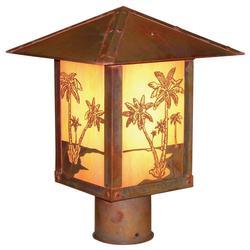 Arroyo Craftsman Timber Ridge 15 Inch Tall 1 Light Outdoor Post Lamp - TRP-16PT-TN-RC