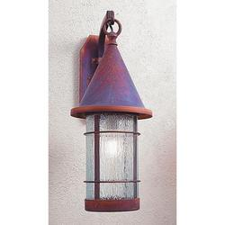 Arroyo Craftsman Valencia 24 Inch Tall 1 Light Outdoor Wall Light - VB-9-RM-RC