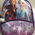 Disney Accessories | Girls Frozen Two Spirits Of Nature Large Purple Backpack | Color: Blue/Purple | Size: Osg