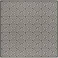 """World Menagerie Headrick Gray Indoor/Outdoor Area Rug Polypropylene in Brown/Gray, Size Square 6'7"""" 