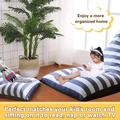 Trule Stuffed Animal Storage Bean Bag Chair For & Adults, Luxury Velvet Stuffed Animal Storage, Stuffie Seat - Cover ONLY Canvas | Wayfair