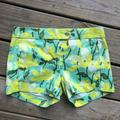 J. Crew Shorts | J Crew | 3 Floral Hawaiian Stretch Chino | Color: Green | Size: 00