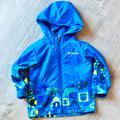 Columbia Jackets & Coats   Columbia Toddler Boys Outside Hooded Fleece Jacket Size: 4t Blue   Color: Blue/Yellow   Size: 4tb