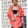Free People Jackets & Coats | Free People Fp Movement Run Wild Jacket Coral S Nwt | Color: Pink | Size: S
