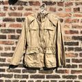 Michael Kors Jackets & Coats | Michael Kors Lightweight Khaki Jacket - Women'S Small | Color: Tan | Size: S