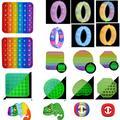 Bracelet à bulles pour enfants, jouets de décompression, Anti-Stress, sensoriel, cadeau pour adultes