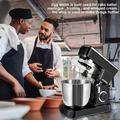 CHILL COMPANY INC Stand Mixer, 4 Quart Electric Mixer, 10 Speed 380W Tilt-Head Kitchen Food Mixers in Black, Size 14.4 H x 14.8 W x 7.9 D in Wayfair