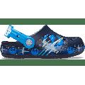 Crocs Navy Kids' Crocs Fun Lab Lights Clog Luke Skywalker Shoes