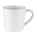 GET C-107-W 8 oz Melamine Coffee Cup, White