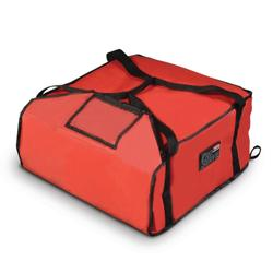 """Rubbermaid FG9F3600RED ProServe? Pizza Delivery Bag - 18"""" x 17 1/4"""" x 7 3/4"""", Nylon, Red"""