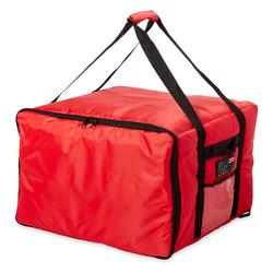 """Rubbermaid FG9F3900RED ProServe? Pizza Delivery Bag - 19 3/4"""" x 19 3/4"""" x 13"""", Nylon, Red"""