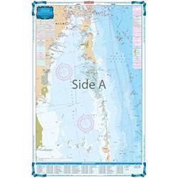 Waterproof Charts 123F SE Florida -