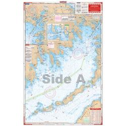 Waterproof Charts, Standard Navigation, 61 Narragansett and Buzzards Bay