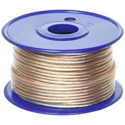 C2G 27292 16 AWG Bulk Speaker Wire, Clear Jacket (50 Feet, 15.24 Meters)