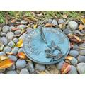 """Solid Brass Hummingbird Sundial 8"""" Inches Wide"""