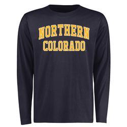 """Men's Navy Northern Colorado Bears Everyday Long Sleeve T-Shirt"""