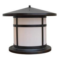 Arroyo Craftsman Berkeley 14 Inch Tall 1 Light Outdoor Pier Lamp - BC-17-WO-BZ