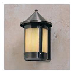 Arroyo Craftsman Berkeley 11 Inch Tall 1 Light Outdoor Wall Light - BS-6LR-RM-MB