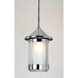 Arroyo Craftsman Berkeley 36 Inch Tall 1 Light Outdoor Hanging Lantern - BSH-8-RM-BZ