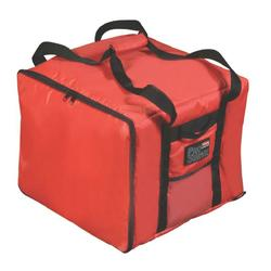 """Rubbermaid FG9F3800RED ProServe? Pizza Delivery Bag - 17"""" x 17"""" x 13"""", Nylon, Red"""