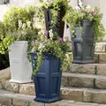 Devon Easy-Care Tall Planter Pots - White - Grandin Road