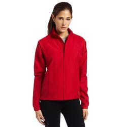 Antigua Women's National Jacket Long Sleeve Wind Jacket, Dk Red, Large