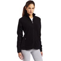Antigua Women's Sleet Long Sleeve Polar Fleece, Black, Large