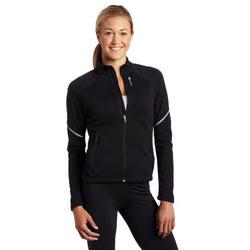Sugoi Women's Firewall 220 Zip Jacket (Black, X-Large)