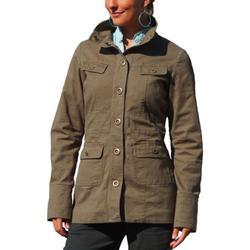 CARVE Women's Presidio Jacket (Burnt Olive, Small)