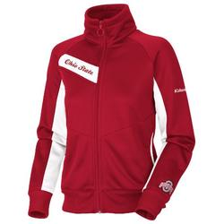 NCAA Women's Ohio State Buckeyes Velocity Trackster, Red, White, Small