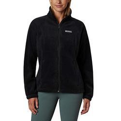 Columbia womens Benton Springs Full Zip Fleece Jacket, Black, X-Small US