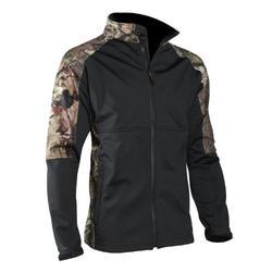 Yukon Gear Men's Windproof Soft Shell Jacket, Break Up Infinity, 2X-Large