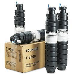Toshiba T3500 T3500 Toner, 13500 Page-Yield, 4/Carton, Black