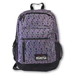 KAVU Portage Backpack, 1750 Cubic Inches, Plum Dots