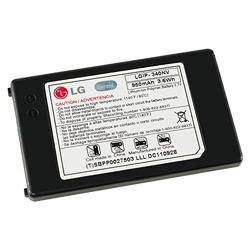 LG LGIP-340NVSTD 950mAh Original OEM Battery for the LG Cosmos VN250 and Octane VN530 - Non-Retail Packaging - Black