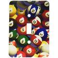 3dRose lsp_962_1 Billiard Balls Pool Single Toggle Switch