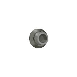 """Deltana WB178 1 7/8"""" Diameter Flush Mounted Wall Bumper Solid Brass Door Stop / Door Bumper Antique"""