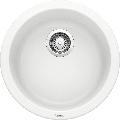 "Blanco 511631 Rondo 18-1/8"" Drop In Single Basin Composite Kitchen Bar Sink White"