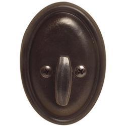 Emtek 8573 #14 Style Tuscany Bronze One-Sided Deadbolt Medium Bronze
