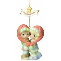 Precious Moments Our First Christmas Together 2010 Figurine