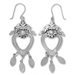 'Empress' - Sterling Silver Chandelier Earrings from Mexico