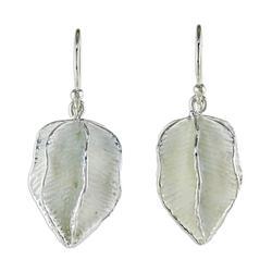 Sterling silver dangle earrings, 'Thai Star'