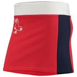"""Women's Refried Apparel Red Boston Sox Mini Tee-Skirt"""