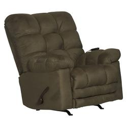 Catnapper Magnum Reclining Heated Massage Chair Polyester/Polyester Blend in Green, Size 46.0 H x 48.0 W x 44.0 D in | Wayfair 546892222015