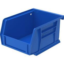 Akro-Mils Plastic Bin Plastic in Blue, Size 3.0 H x 4.13 W in | Wayfair 30210B