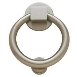 Baldwin Ring Door Knocker in Gray, Size 5.5 H x 4.25 W in | Wayfair 0195.150