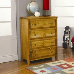 Wildon Home® San Bernardino 4 Drawer Chest Wood/Solid Wood in Brown/Green, Size 44.0 H x 33.0 W x 18.0 D in   Wayfair CST1579 4435872
