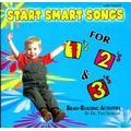 Kimbo Educational Start Smart Songs For 1s 2s & 3s CD, Size 5.0 H x 5.5 W x 0.38 D in | Wayfair KIM9184CD